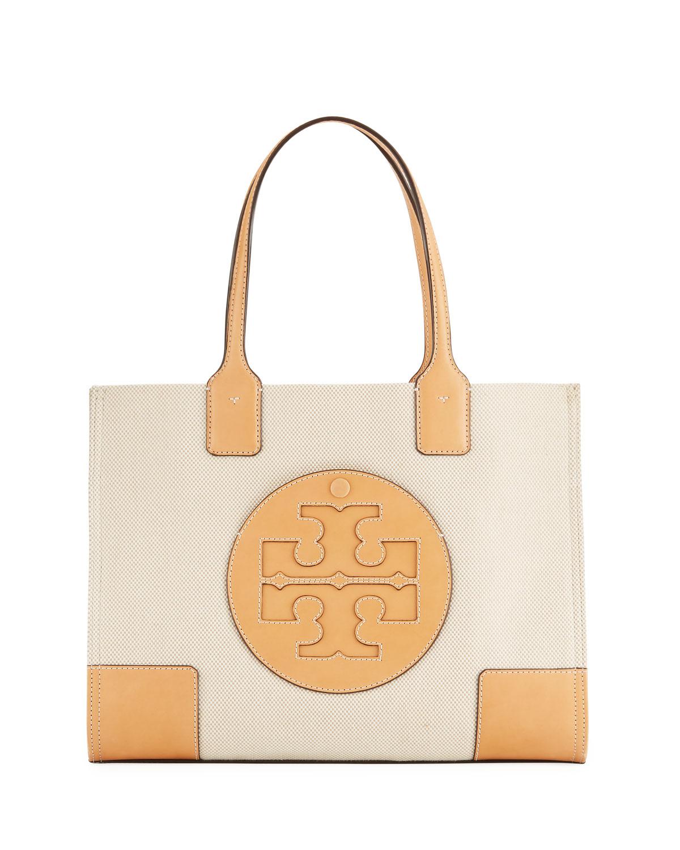 8d77c6326ffb3 Tory Burch Ella Canvas Mini Tote Bag
