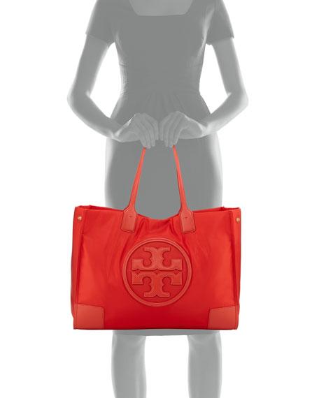 Ella Nylon Snap Tote Bag
