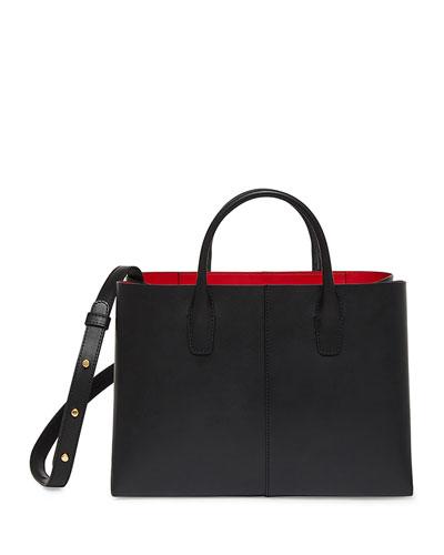 Mini Folded Vegetable-Tanned Leather Shoulder Bag