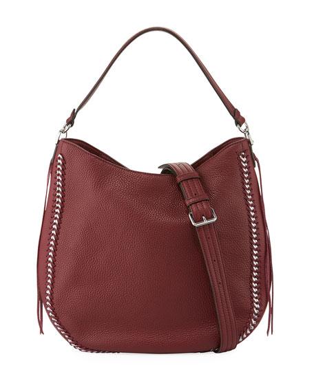Rebecca Minkoff Convertible Pebbled Hobo Bag