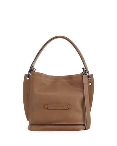 Leather 3D Crossbody Bag