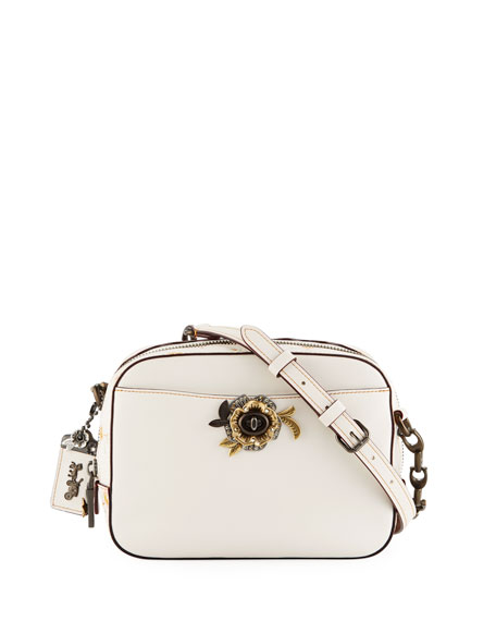 Coach 1941 Vintage Prairie Tea Rose Camera Bag