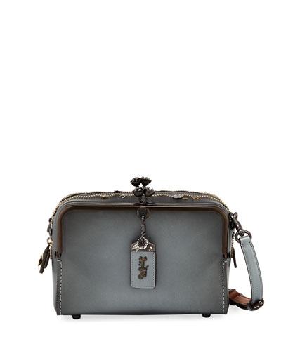 Mailbox Crystal-Embellished Shoulder Bag