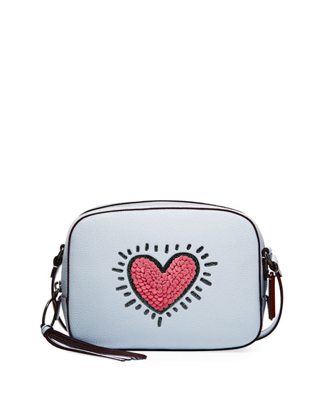 Coach 1941 x Keith Haring Sequins Heart Camera