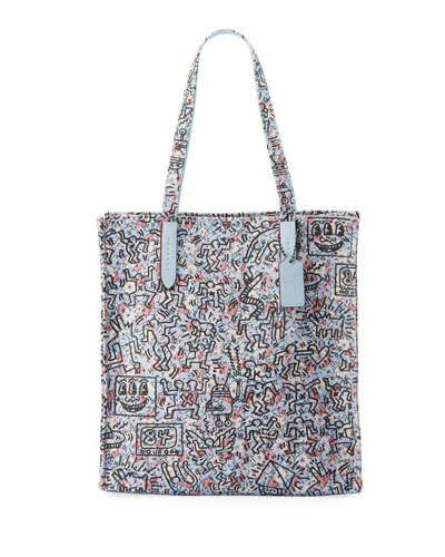 x Keith Haring Multi Ki Tote Bag