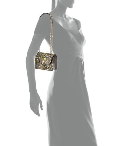 Demilune Mini Crystal Shoulder Bag