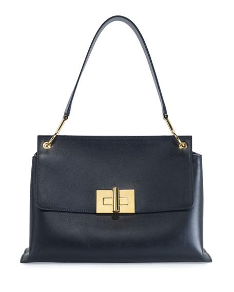 TOM FORD Natalia Leather Shoulder Bag