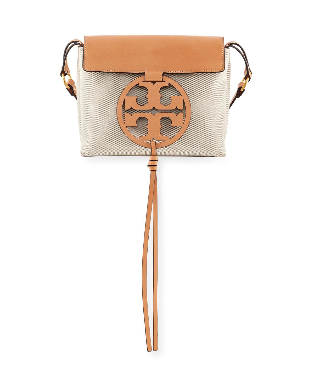 fda8f5c3c09d Tory Burch Miller Canvas Crossbody Bag