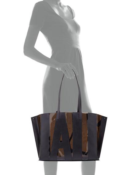 Ai Medium Transparent Soft Shoulder Bag