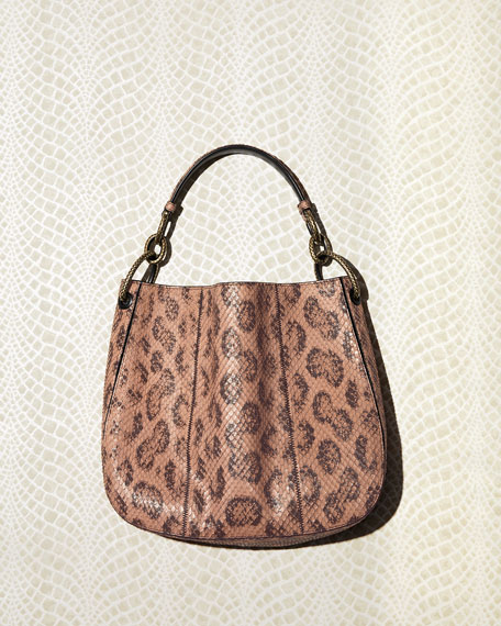 Loop Anaconda Hobo Bag
