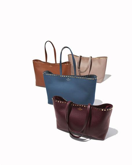 Rockstud Vitello Tote Bag