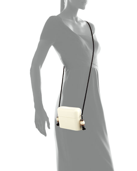 Lacquered Evening Case Crossbody Bag