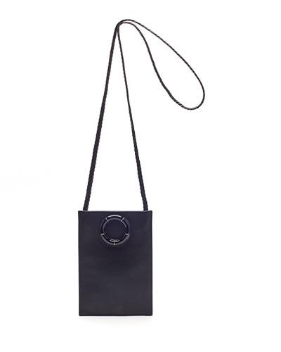 Smooth Calfskin Medicine Pouch Bag