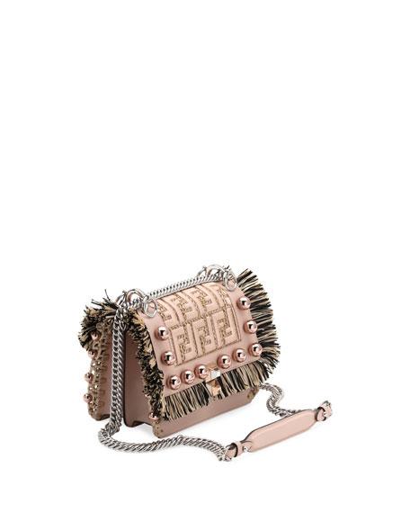 Kan I Small FF Scalloped Shoulder Bag