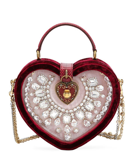 Dolce & Gabbana My Heart Velvet and Snakeskin