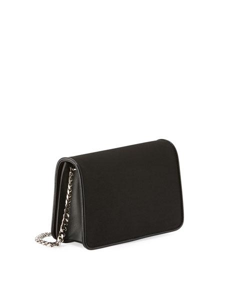 Ginny Palms Fringe Clutch Bag