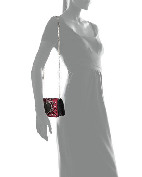 Ginny Heart Cupid Clutch Bag