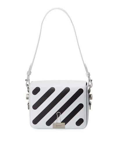 Diagonal Flap Shoulder Bag