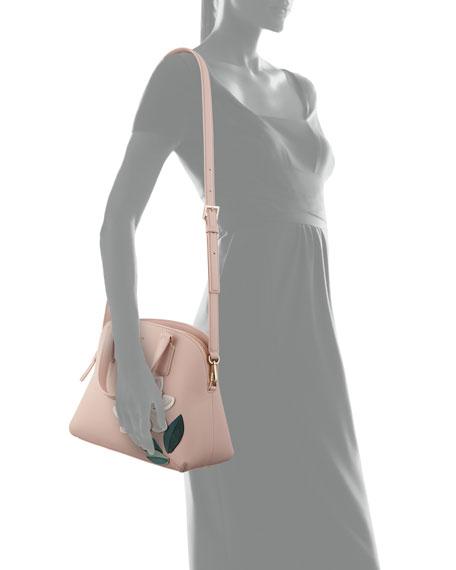 swampled magnolia lottie satchel bag