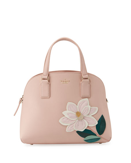 kate spade new york swampled magnolia lottie satchel
