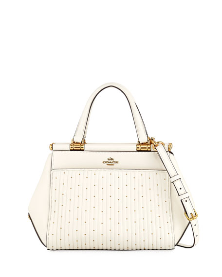 Coach Quilting Grace Shoulder Bag with Rivets