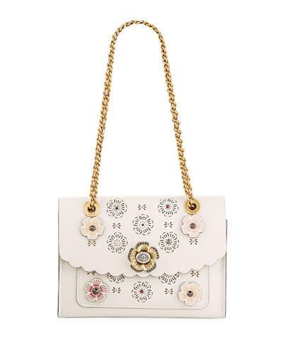 Parker Tea Rose Cutout Shoulder Bag