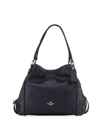Edie 31 Patchwork Tea Rose Shoulder Bag