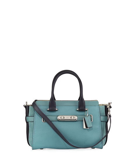Swagger 27 Mixed Leather Satchel Bag