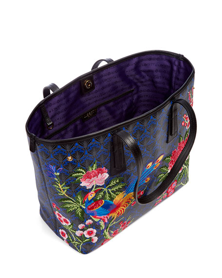 Elysian Embroidery Little Marlborough Tote Bag