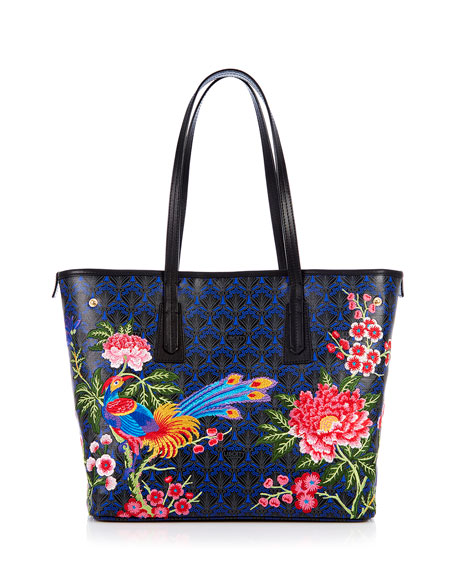 Liberty London Elysian Embroidery Little Marlborough Tote Bag
