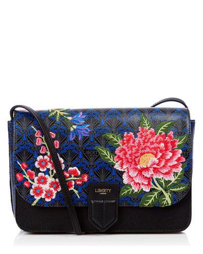 Elysian Embroidery Portland Shoulder Bag