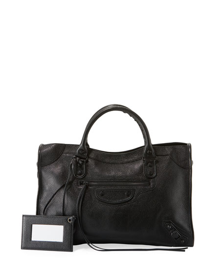 Metallic Edge City Aj Tote Bag by Balenciaga