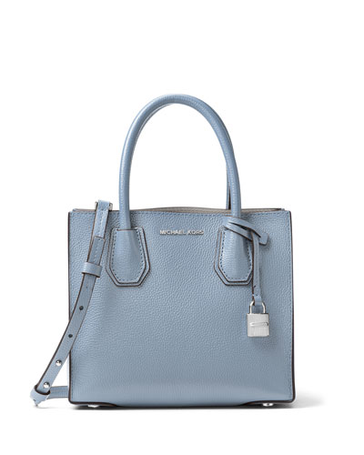 Mercer Medium Leather Tote Bag