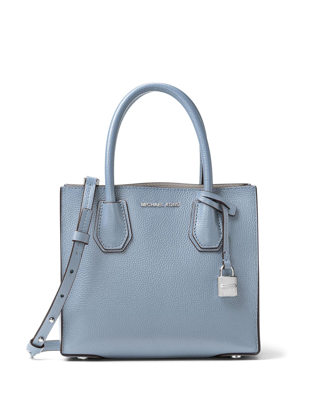 MICHAEL Michael Kors Mercer Medium Leather Tote Bag   Neiman Marcus 2098594ffd