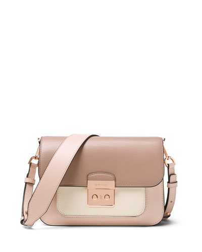 Sloan Editor Large Shoulder Bag - Rose Hardware