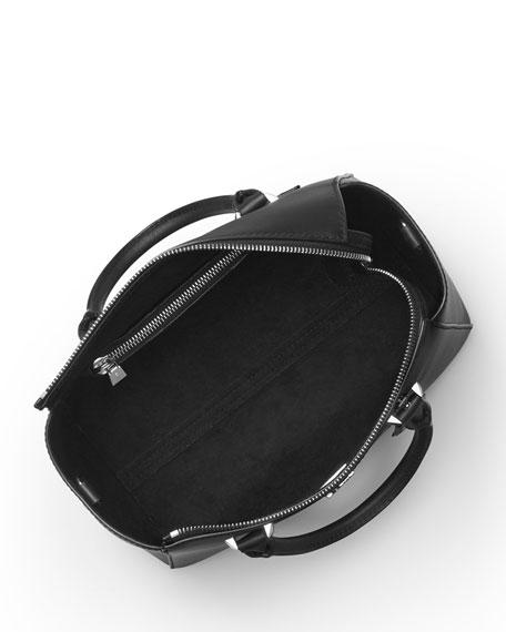 Nolita Medium Satchel Bag - Silver Hardware