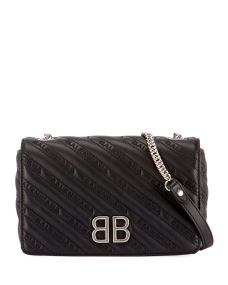 BB Chain Matelassé Wallet on a Chain