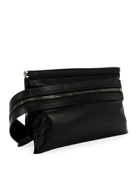 Flat East/West Framed Clutch Bag