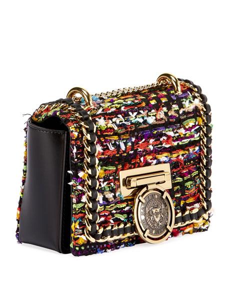 Baby Box Tweed Crossbody Bag