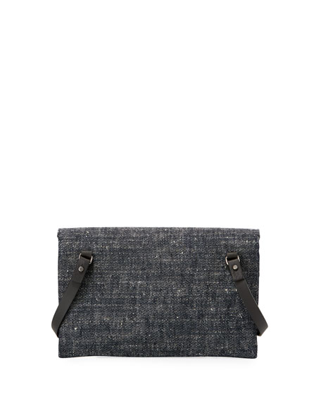 Denim Mini City Crossbody Bag