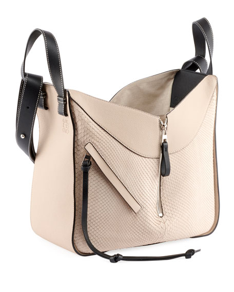 Hammock Colorblock Small Satchel Bag