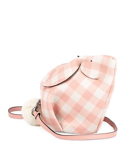 Bunny Gingham Mini Crossbody Bag