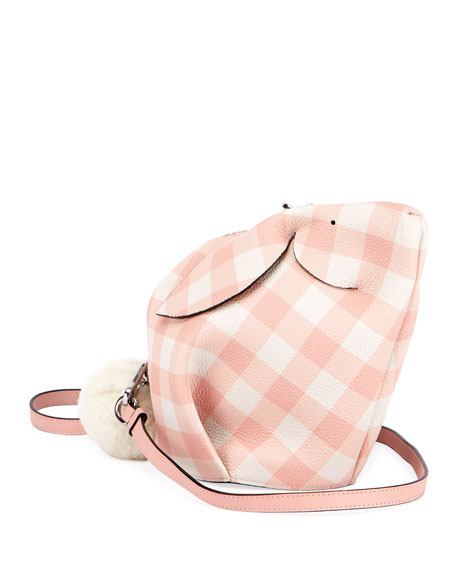Bunny Gingham Mini Crossbody Bag