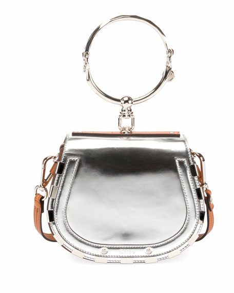 Chloe Nile Small Metallic Bracelet Bag