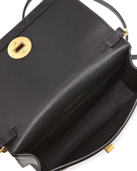 Georgia Mini Diamond-Quilted Crossbody Bag