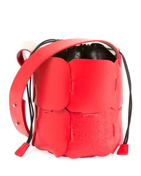 Paco Rabanne Element Mini Embossed Hobo Bag