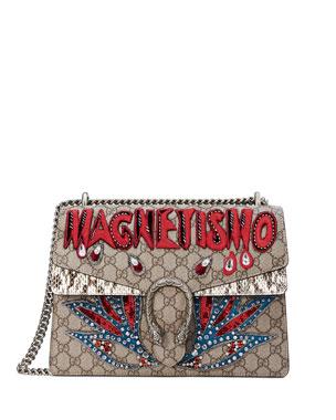 f1c82877687b2b Gucci Dionysus Magnetismo Medium GG Supreme Shoulder Bag