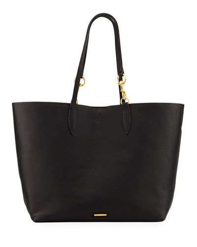 Sherry Dog-Clip Open Tote Bag