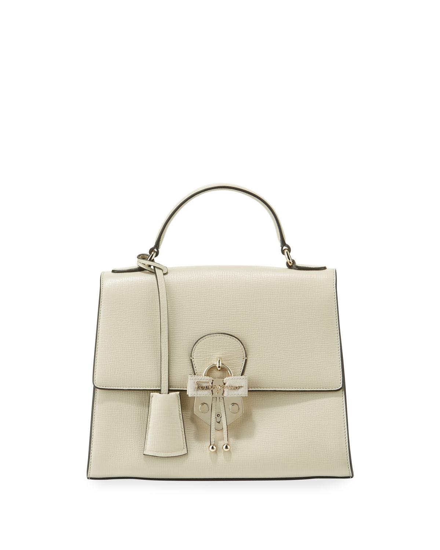 Salvatore Ferragamo Funny Lock Leather Crossbody Bag  30c4f1063e0f6