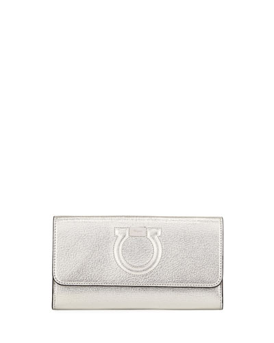 Salvatore Ferragamo Gancio City Metal Crossbody Bag